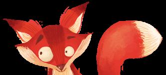 """Μια Αλεπού κοιτά με απορία! Η ζωγραφιά είναι μέρος της εικονογράφησης του παιδικού βιβλίου """"Πού σε πάει το όνομά σου;"""" και θα την δει κανείς αν στο ταξίδι που θα κάνει το παιδί, για το οποίο έχει δημιουργηθεί το βιβλίο, θα συναντήσει μια Αλεπού!"""