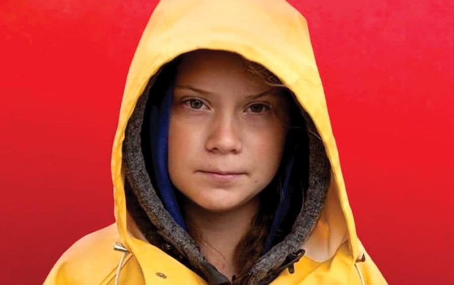 Φωτογραφία της Greta Thunberg